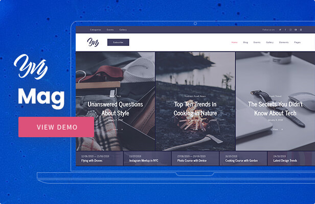 Yvy — Magazine WordPress Theme