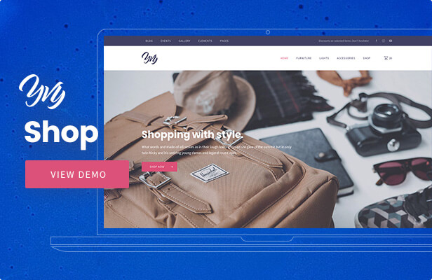 Yvy - Shop/eCommerce WordPress Theme