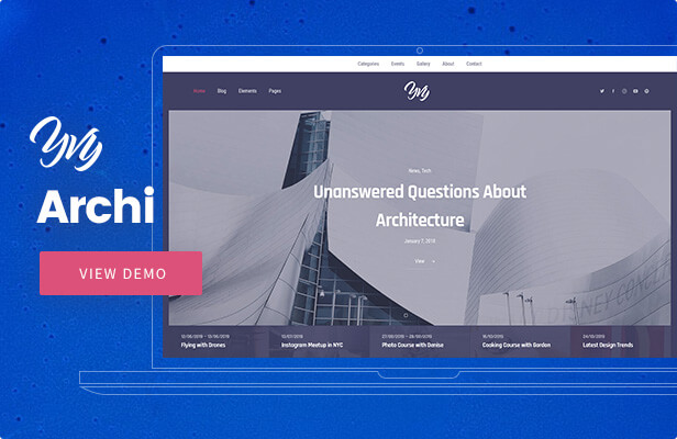 Yvy — Architecture Blog/Magazine WordPress Theme