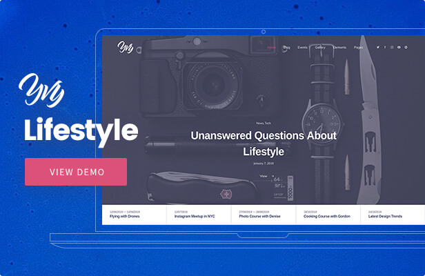 Yvy — Lifestyle Blog/Magazine WordPress Theme